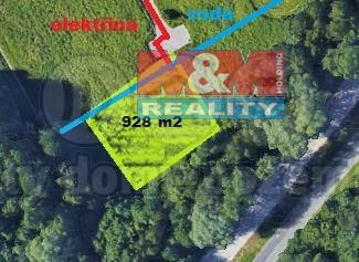 Prodej, stavební pozemek, 928 m2, Petřvald u Karviné
