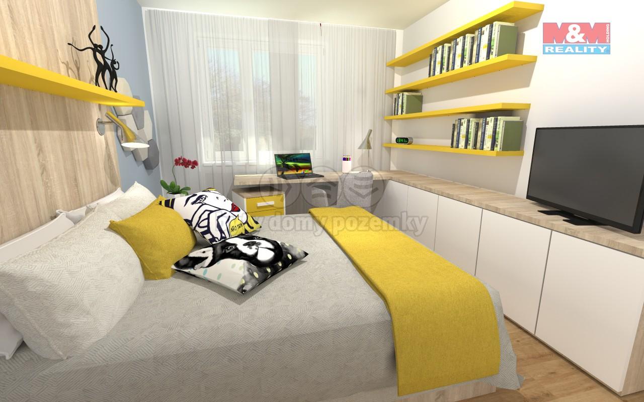 Prodej, byt 2+1, 58 m2, Vratimov