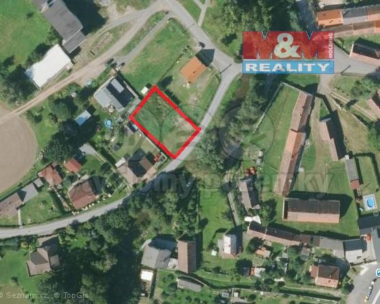 (Prodej, stavební pozemek, 834 m2, Vstiš, okres Plzeň-jih), foto 1/13