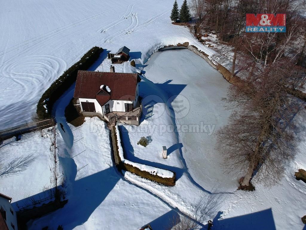 Prodej, rodinný dům, 9 504 m2, Heřmaneč u Počátek