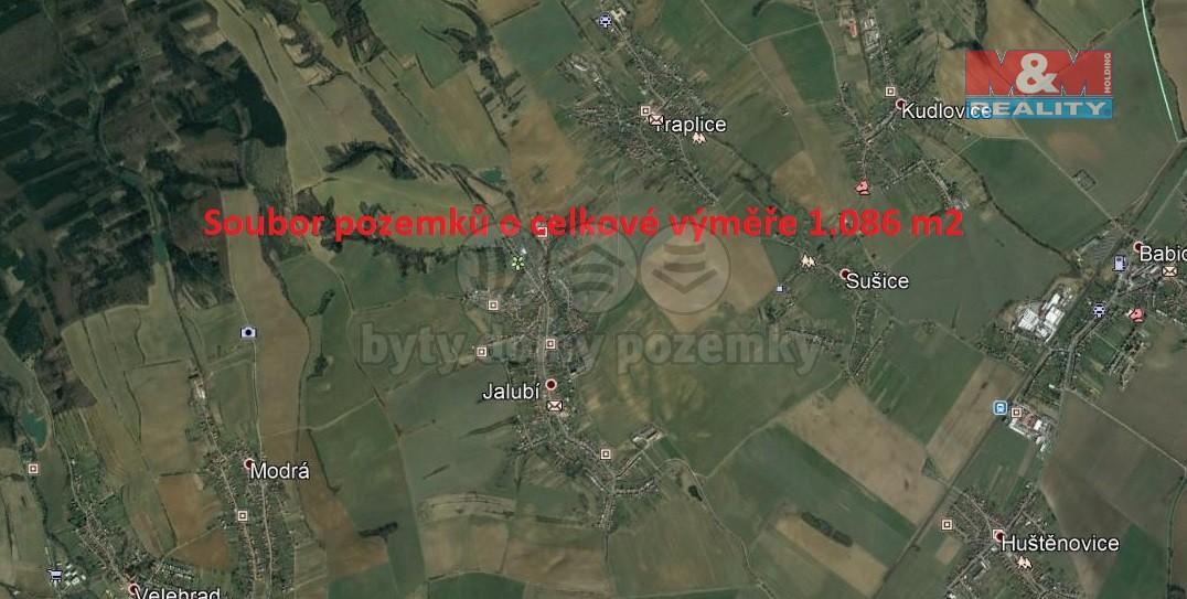 Prodej, pole, 1086 m2, Jalubí