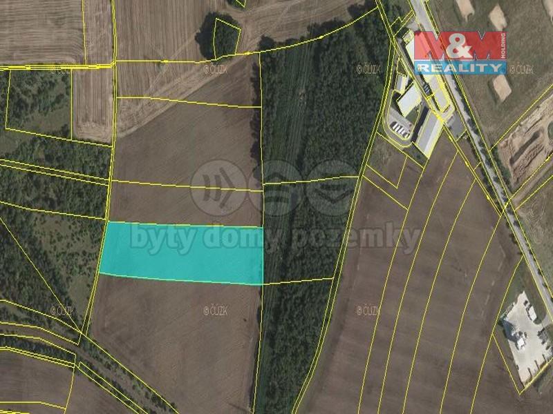 (Prodej, pole, 17646 m2, Chvatěruby)