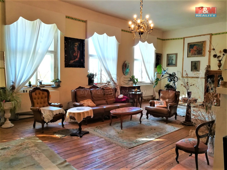 Prodej, rodinný dům, 700 m2, Kněžice u Podbořan