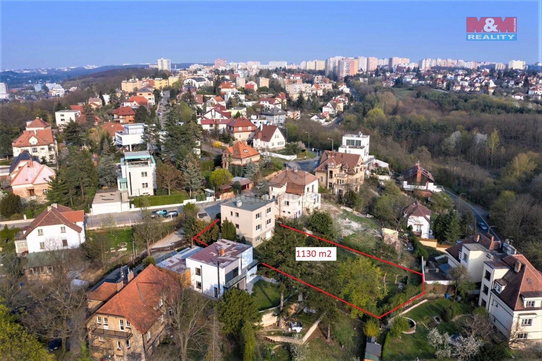 Prodej, stavební pozemek, 1130 m2, Praha - Braník