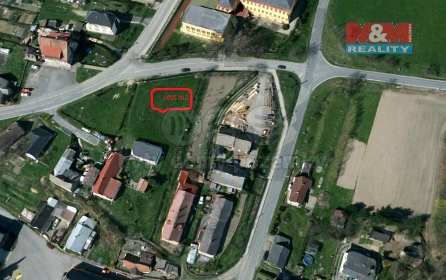 Prodej, pozemek,1095 m2, Melč