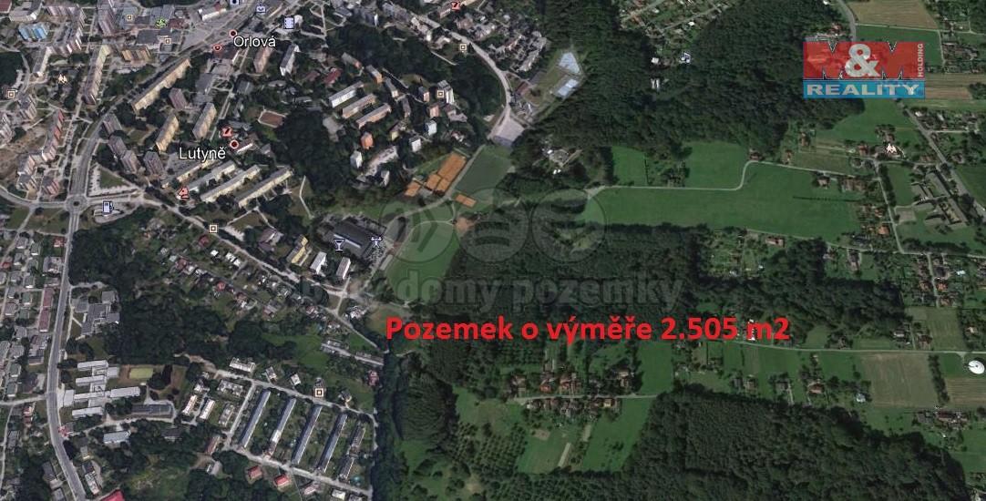 Prodej, louka, 2505 m2, Horní Lutyně