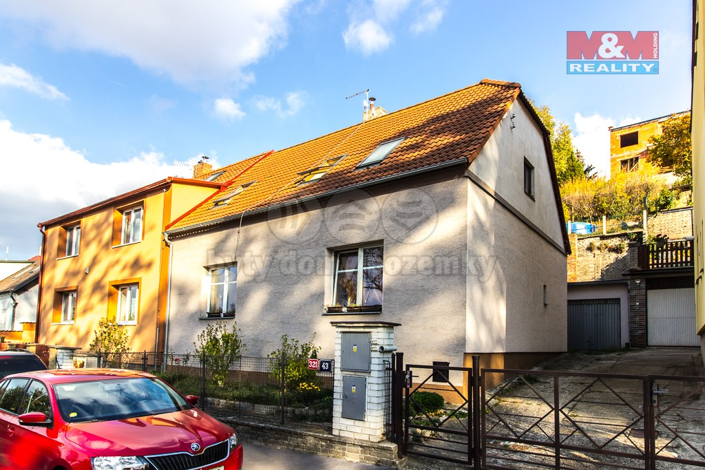 Prodej, dvougenerační rodinný dům, Praha 6, ul. Nad Manovkou
