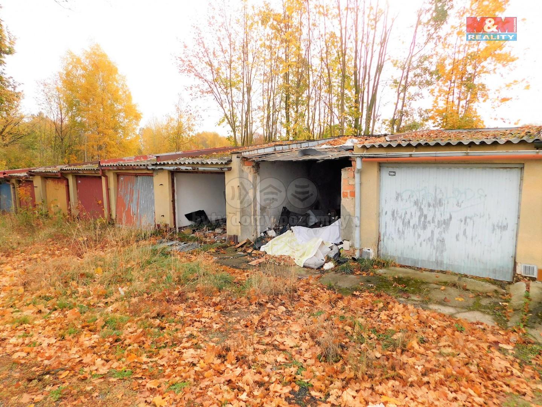 Prodej, garáž, 28 m2, Cheb, ul. Pelhřimovská