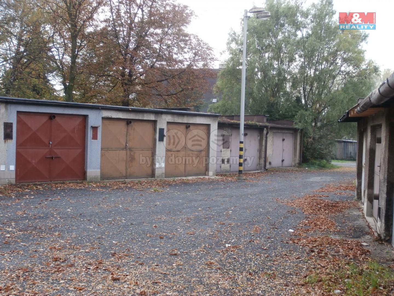Prodej, garáž, 20 m2, Ostrava, ul. Na Hrázkách