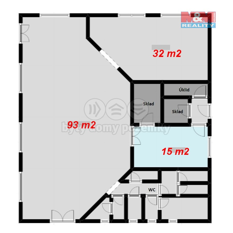 (Prodej, výroba - sklady, 1724 m2, Kamenec u Radnic), foto 1/12