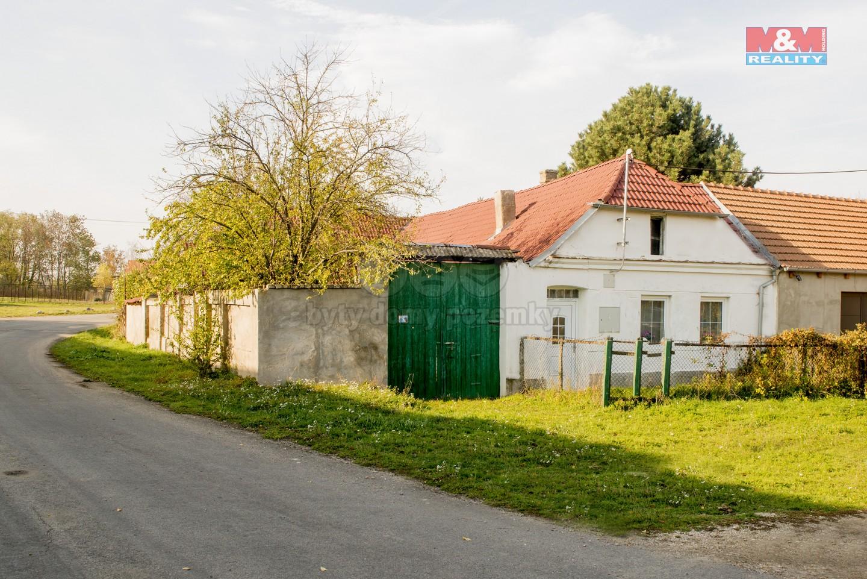 Prodej, rodinný dům, 2+1, 717 m2, Litobratřice