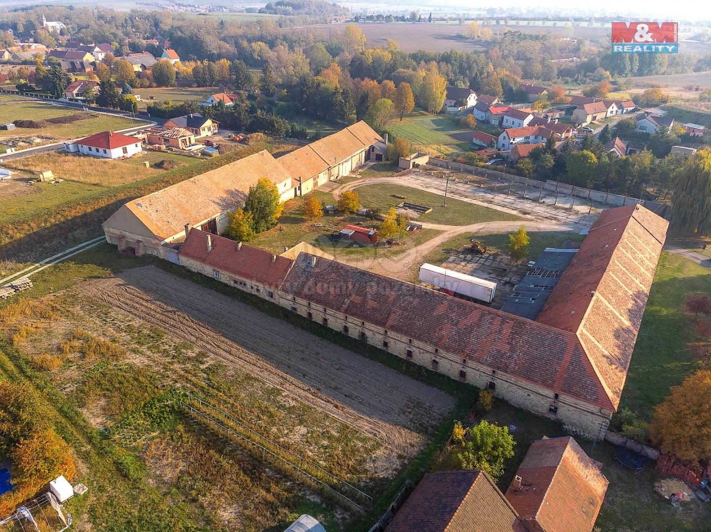 Prodej, zemědělská usedlost, 10597 m2, Straškov - Vodochody