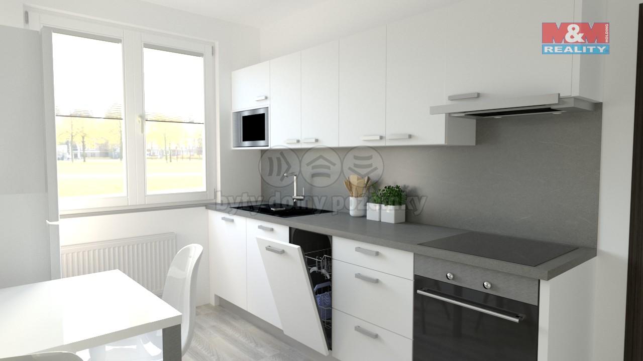 Prodej, byt 3+1, 77 m2, Olomouc, ul. gen. Píky
