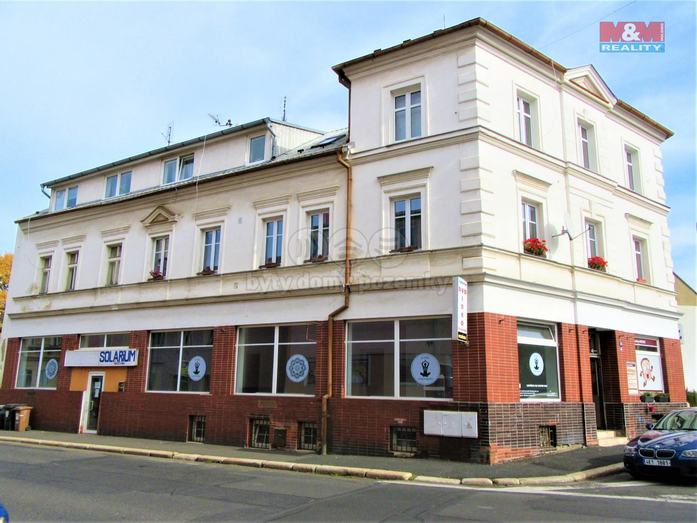 Prodej, nebytový prostor, 126 m2, Cheb, ul. Osvobození