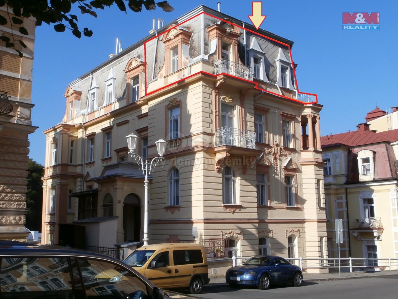 Prodej, byt 2+kk, 46 m2, Mariánské Lázně, ul. Karlovarská