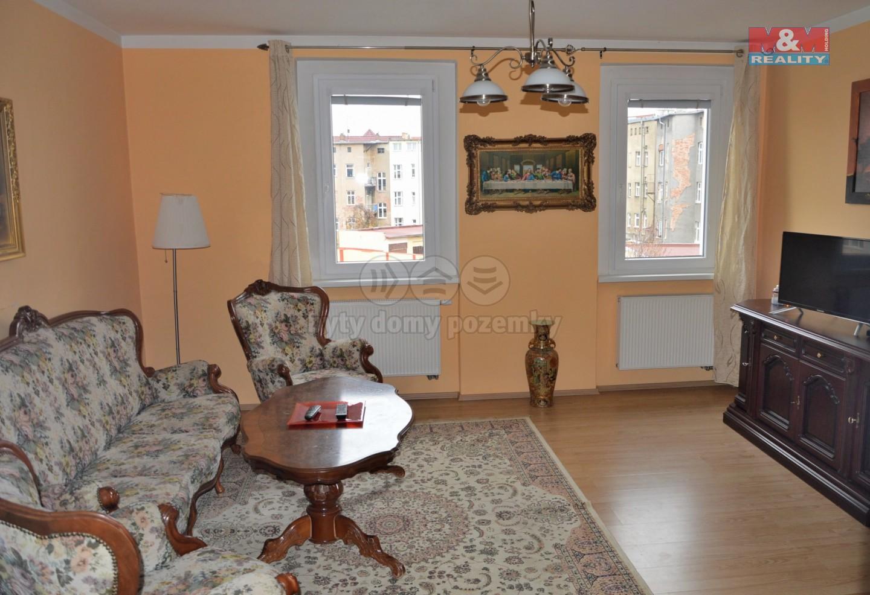Pronájem, byt 2+1, OV, 67 m2, Teplice, ul. Jiřího Wolkera
