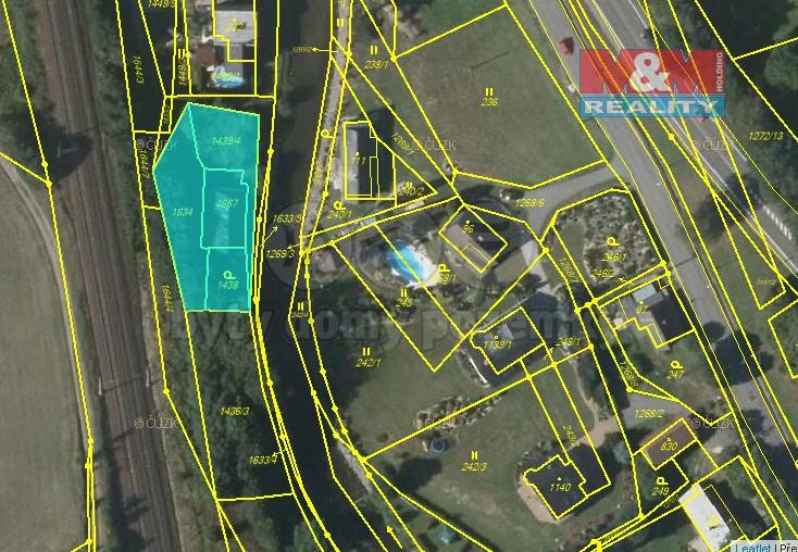 Prodej, stavební pozemek, 1025 m2, Dlouhá Třebová