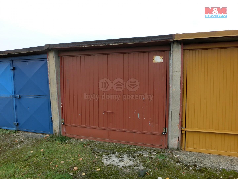 Prodej, garáž, Most, ul. Pionýrů