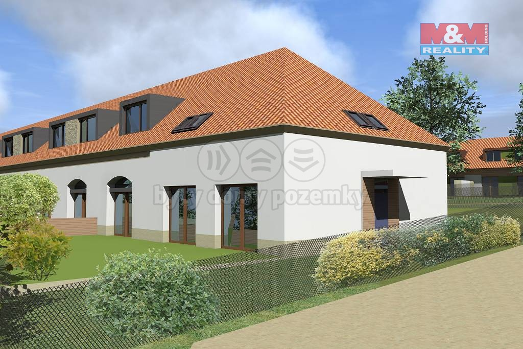Prodej, rodinný dům 5+kk, 673 m2, Dubany