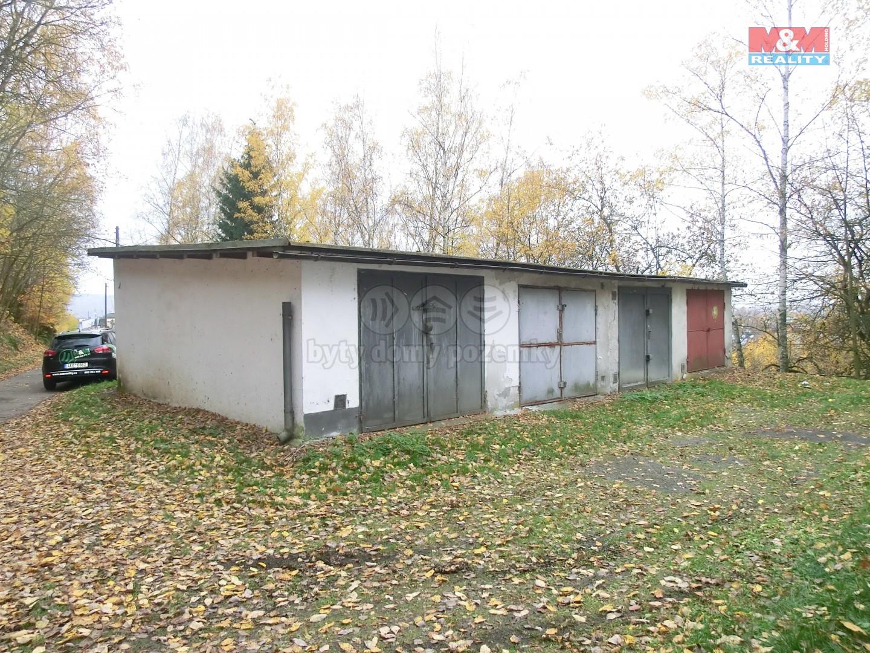 Prodej, garáž, 24 m2, Karlovy Vary, ul. Pod Lesem