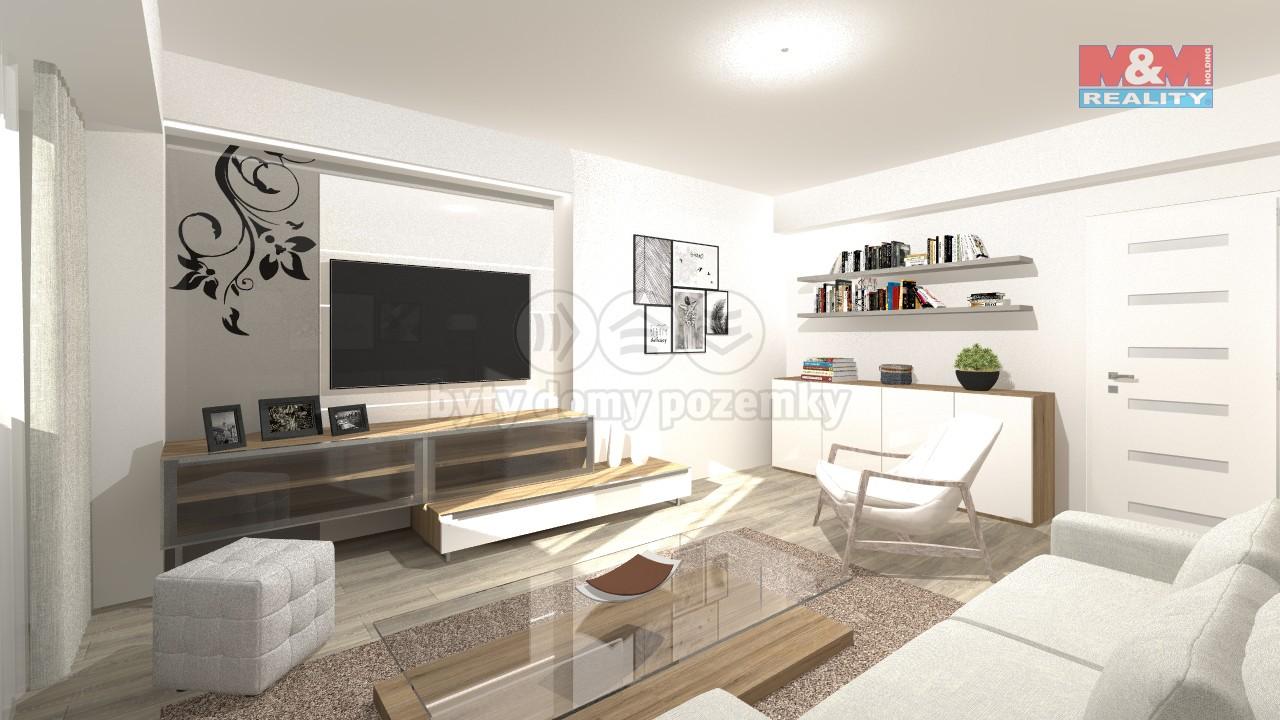 Pronájem, byt 1+kk, 34 m2, Opava, ul. Rooseveltova