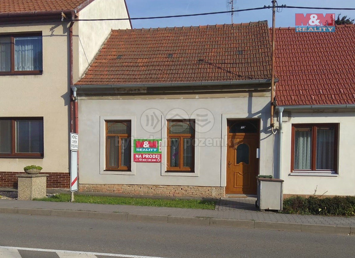 Prodej, rodinný dům 3+1, Křenovice, ul. Václavská