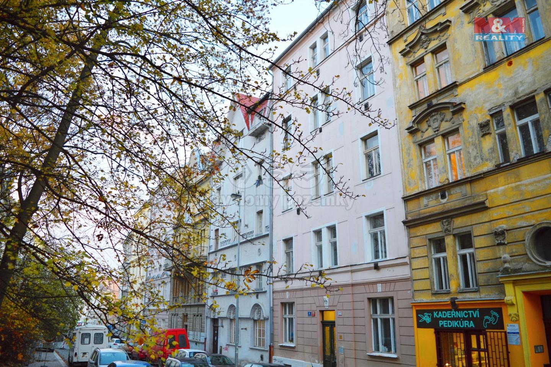 Pronájem, byt 2+kk, 47 m2, Praha 10–Vršovice, Holandská ul.