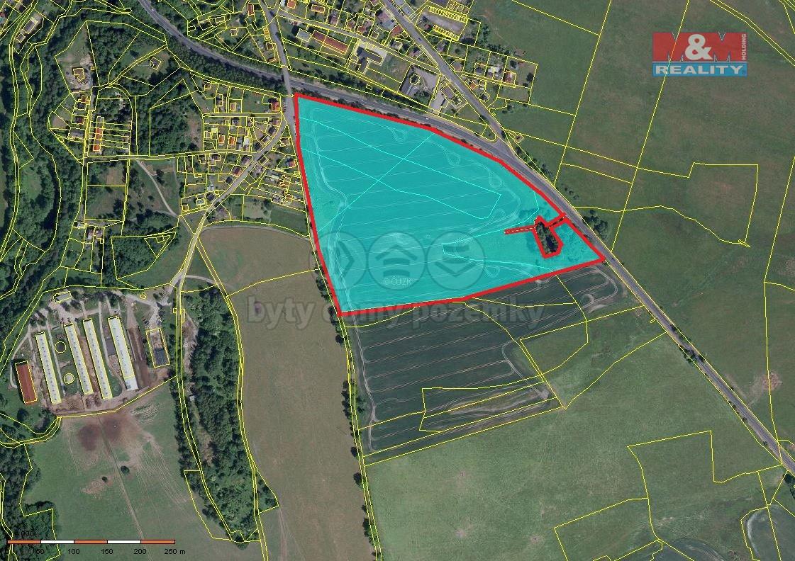 Prodej, pozemek, 87888 m2, Hazlov