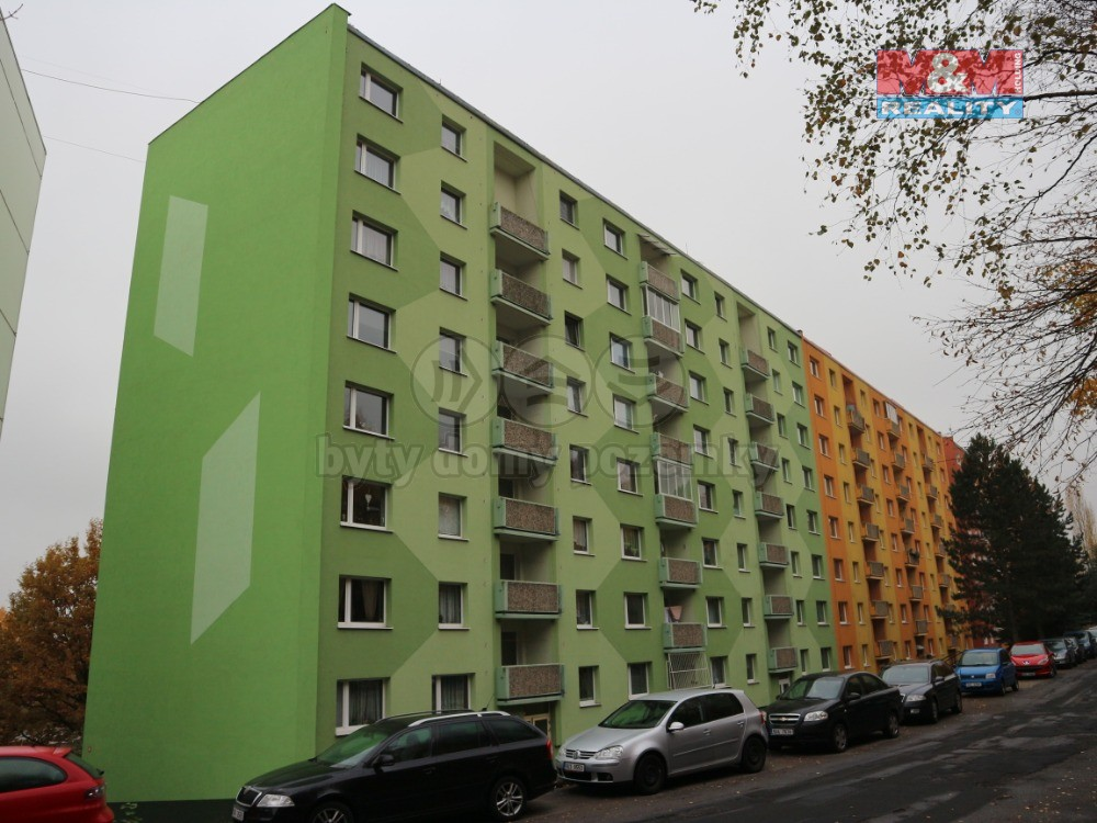 Prodej, byt 1+1, 41 m2, DV, Chomutov, ul. Kamenný Vrch