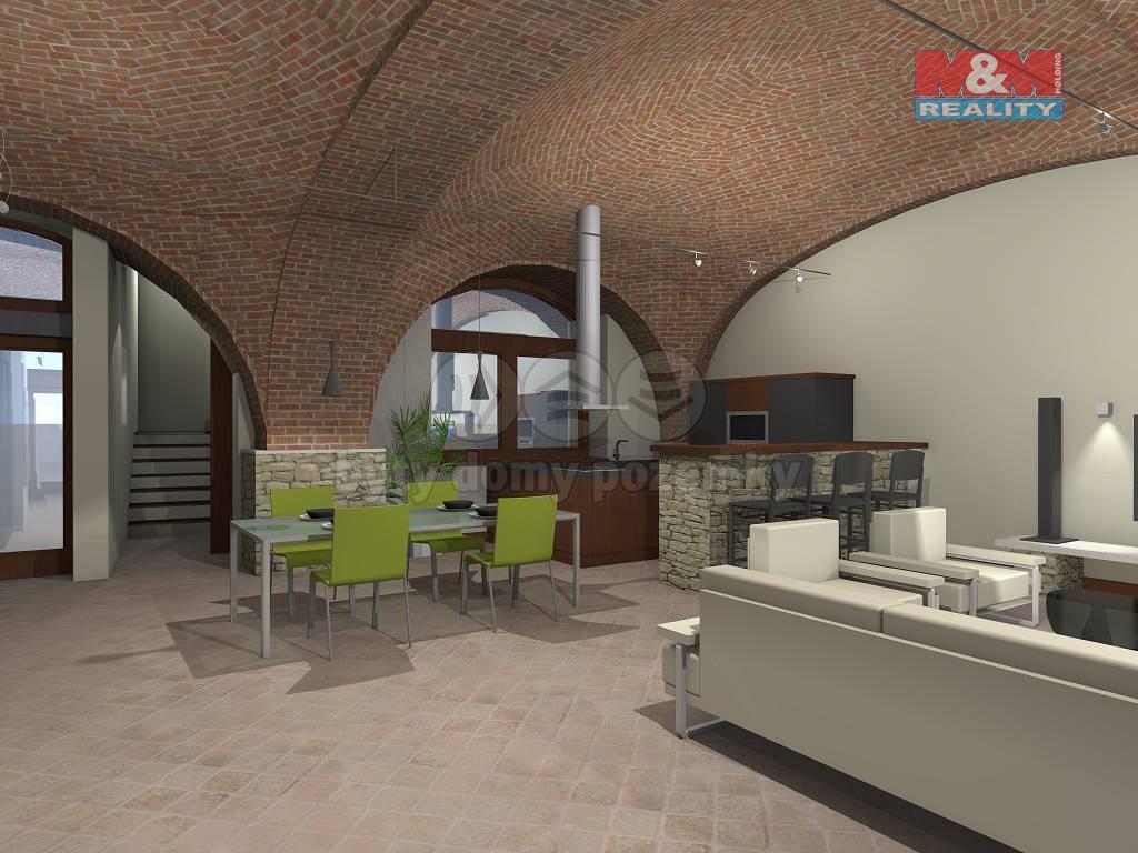 Prodej, rodinný dům 5+kk, 395 m2, Dubany