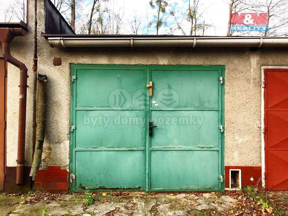 Prodej, garáž, 21 m2, Ostrava - Hrabová, ul. U Kotelny
