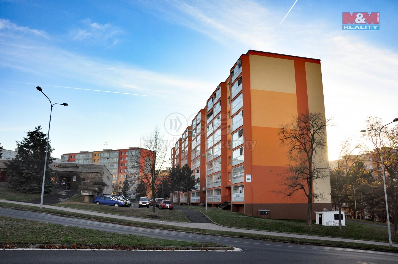Prodej, byt 2+kk, 41 m2, OV, Most, ul. Kpt. Jaroše