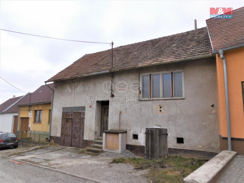 Prodej, rodinný dům 3+kk, 861 m2, Bohutice