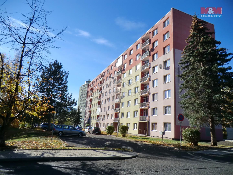 Prodej, byt 3+1, 63 m2, OV, Klášterec nad Ohří, ul. Školní
