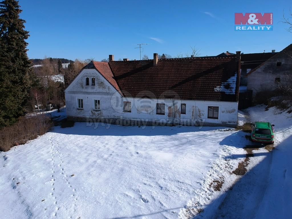 Prodej, rodinný dům, 2 461 m2, Horní Ves