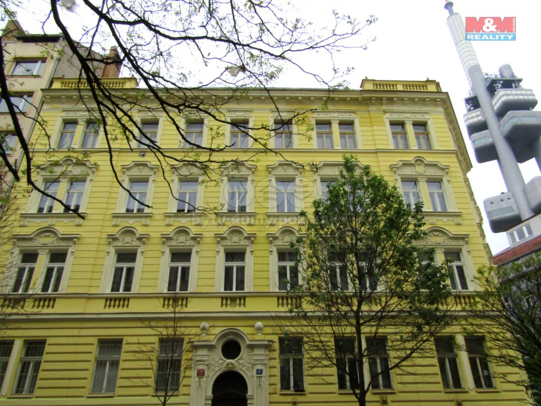 Pronájem, byt 2+kk, 45 m2, Praha 3 - Vinohrady