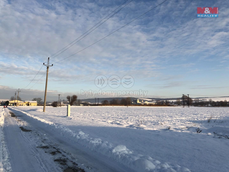 Prodej, stavební pozemek, 1260 m2, Kunovice