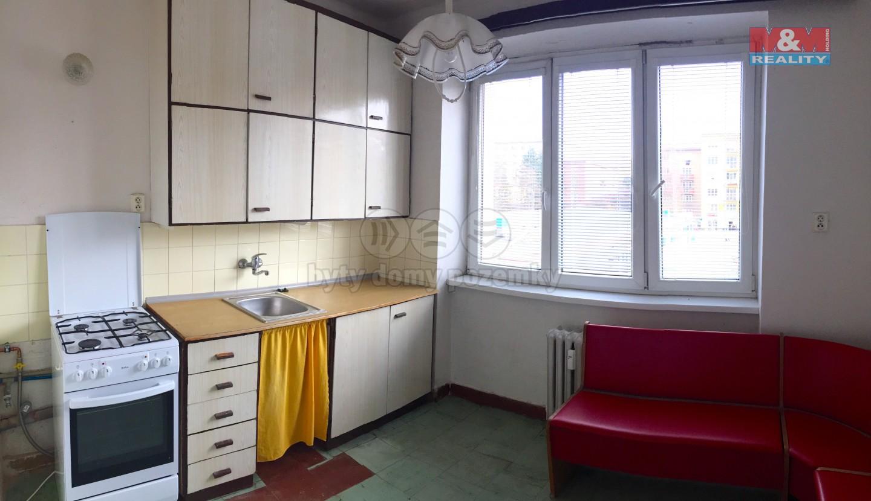 Prodej, byt 2+1, 61 m2, Ostrava - Poruba, ul. Nezvalovo nám.