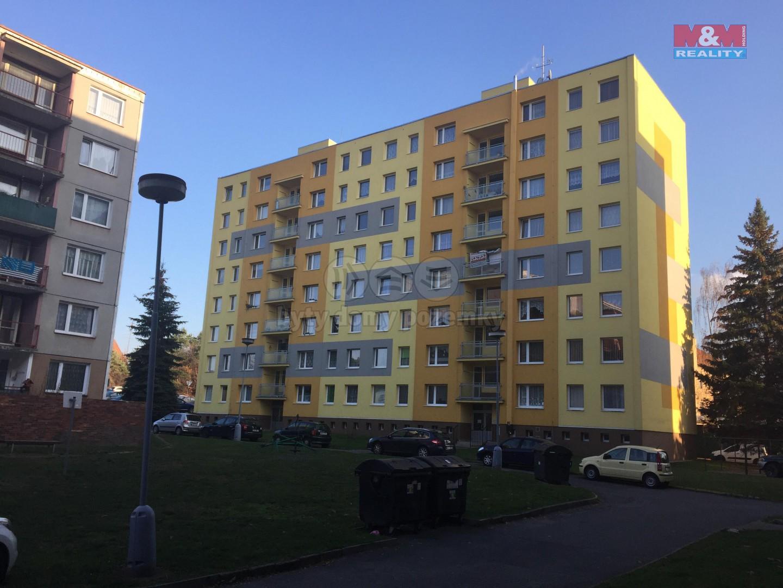 Pronájem, byt 1+1,37 m2, Rokycany, ul. Františka Kotyzy
