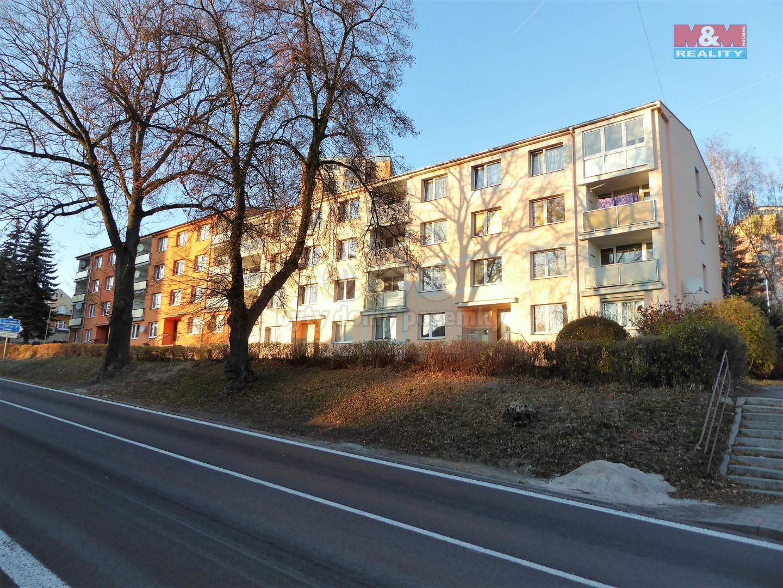 Pronájem, byt 1+1, 37 m2, Nejdek, ul. J. A. Gagarina