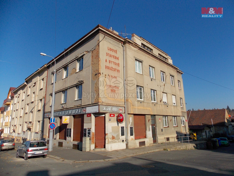 Pronájem, byt 1+1, 39 m2, Plzeň, ul. Májová