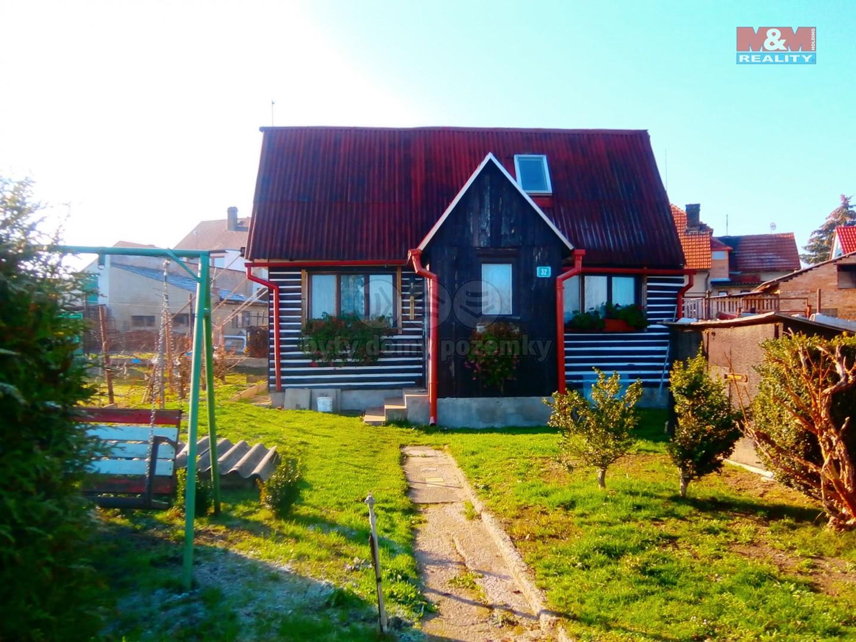 Prodej, chata 3+1 se zahradou, 749 m2, Dobroměřice