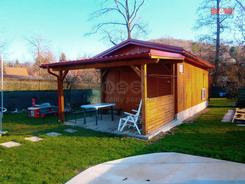 Prodej, chata 2+kk se zahradou, 545 m2, Třeboutice