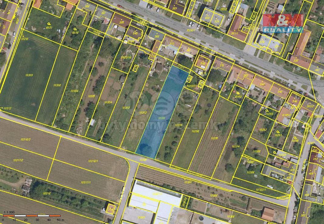 Prodej, pozemek, 1415 m2, Hrabětice