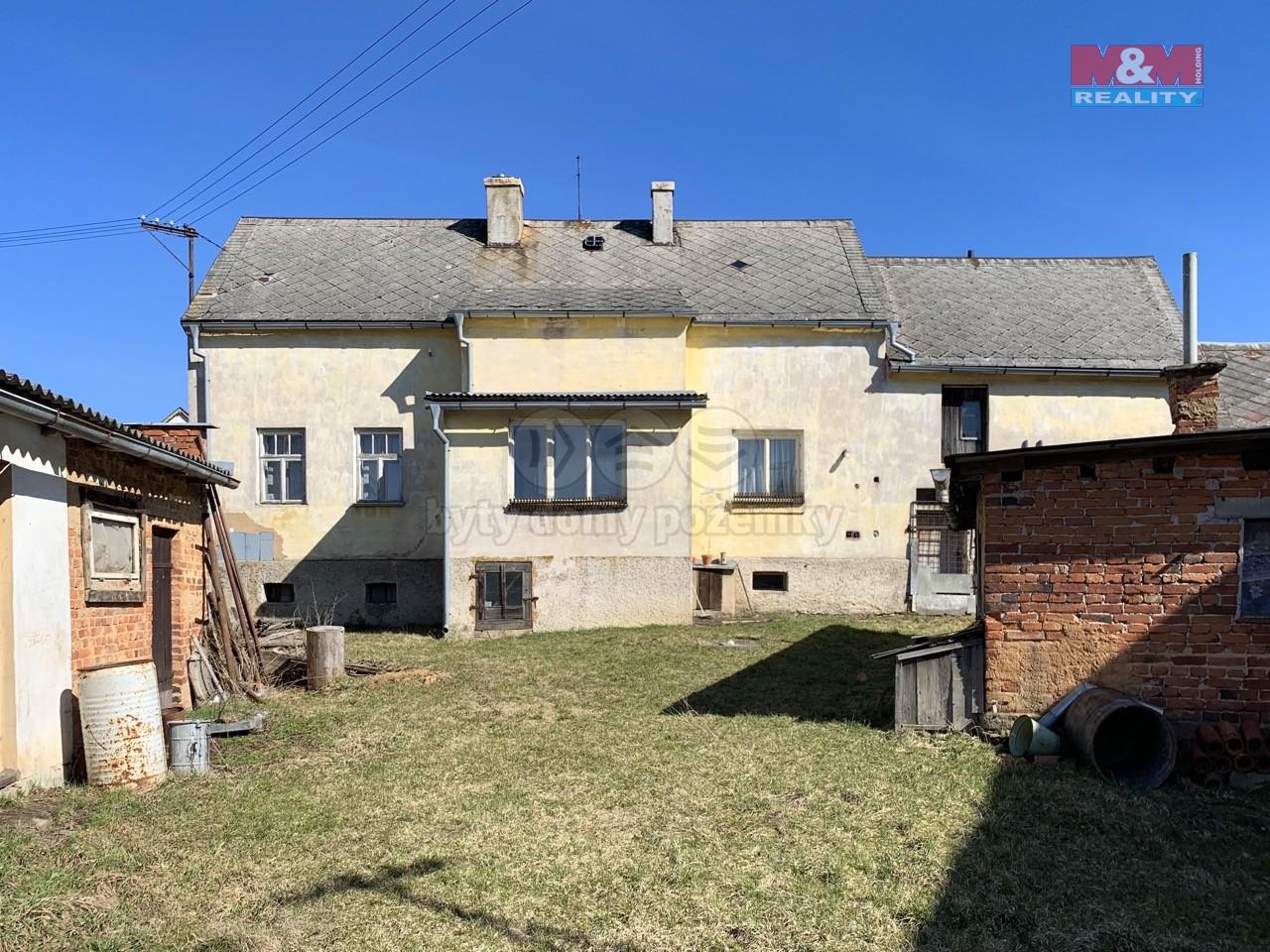 Prodej, rodinný dům, 1760 m2, Bezvěrov - Chudeč