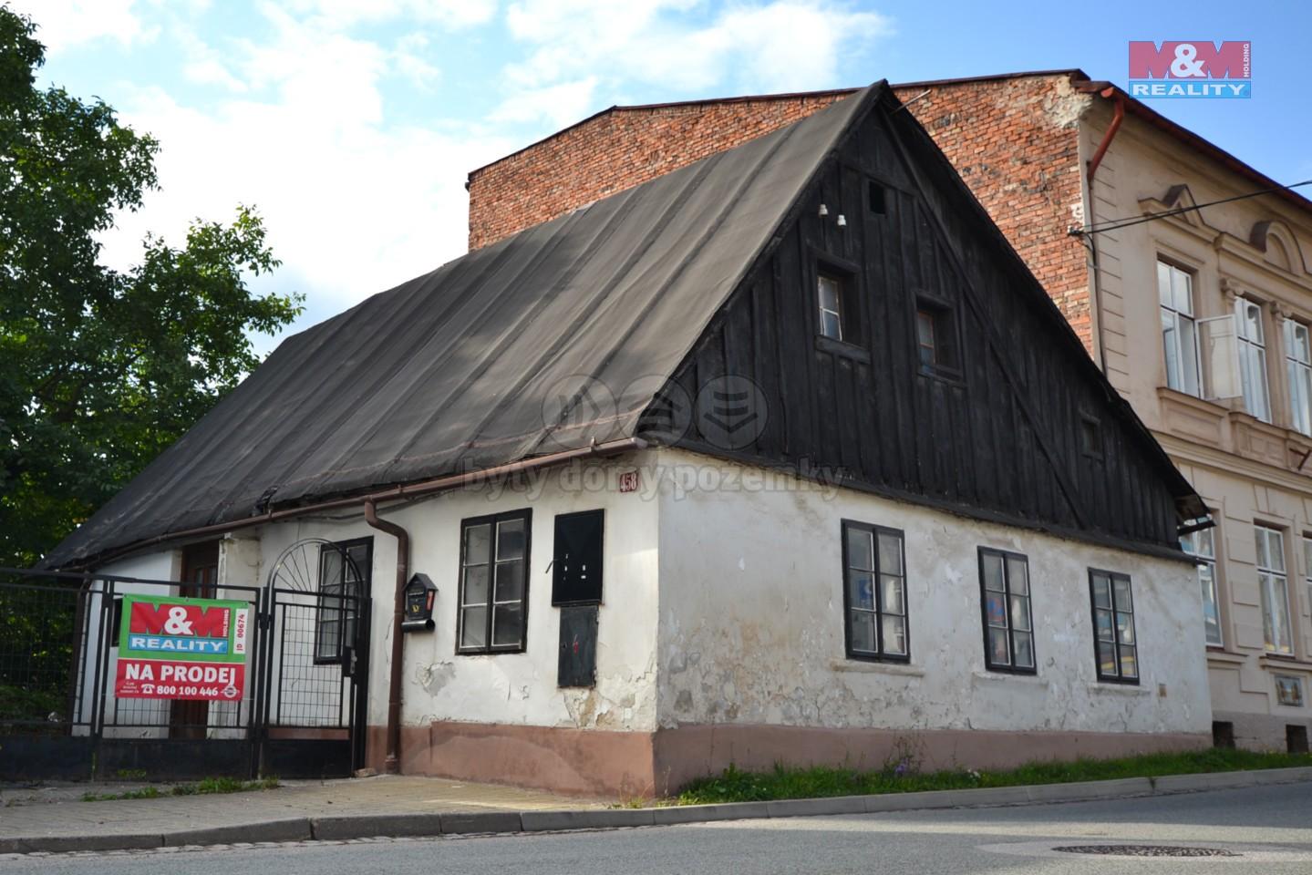 Prodej, chalupa, Vrchlabí, ul. Jihoslovanská