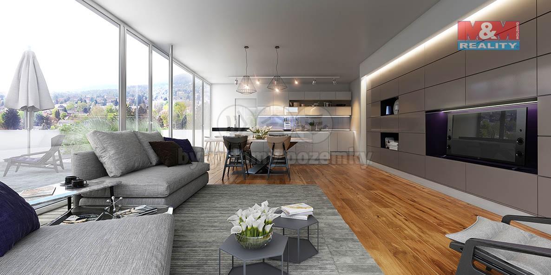 Prodej, byt 4+kk, 157 m2, Brno, ul. Grohova