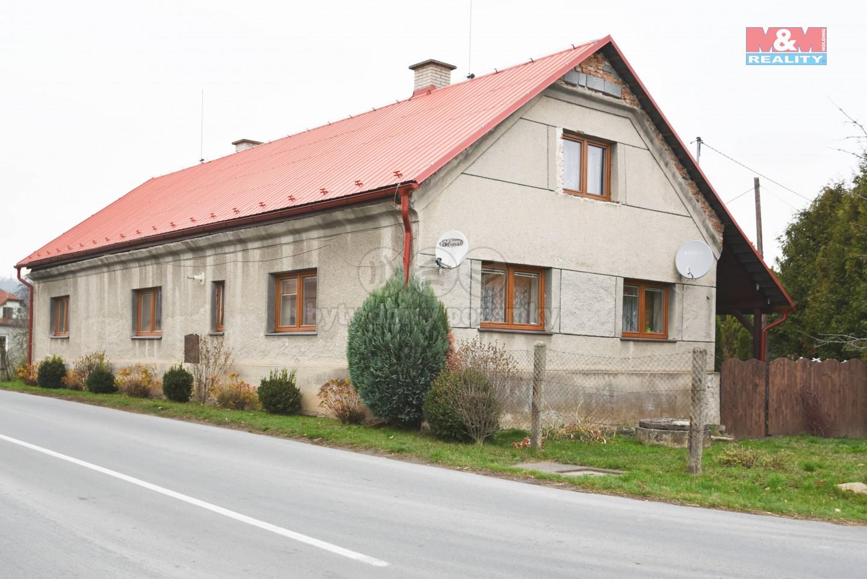 Prodej, rodinný dům 3+1, 468 m2, Troubelice