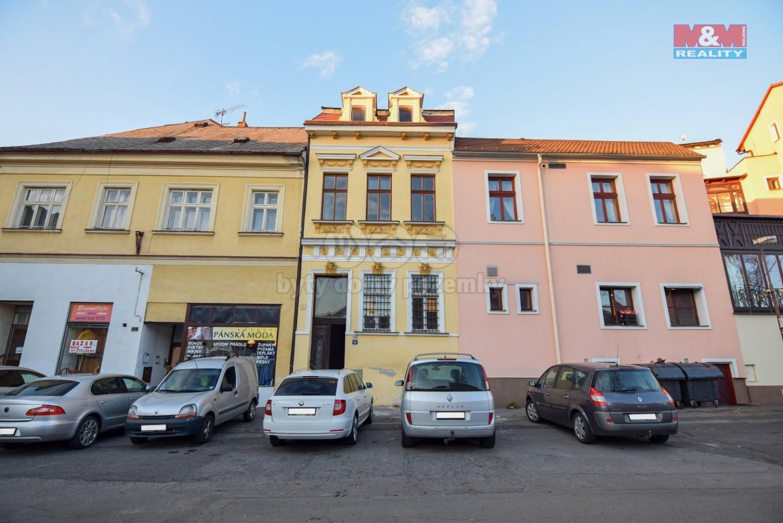 pohled na dům (Pronájem, obchod a služby, 39 m2, Česká Lípa), foto 1/9