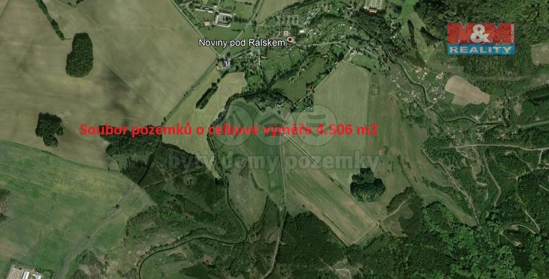 (Prodej, louka, 4506 m2, Noviny pod Ralskem), foto 1/3